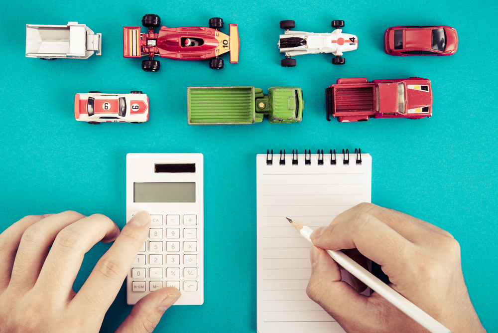 車と計算ルール