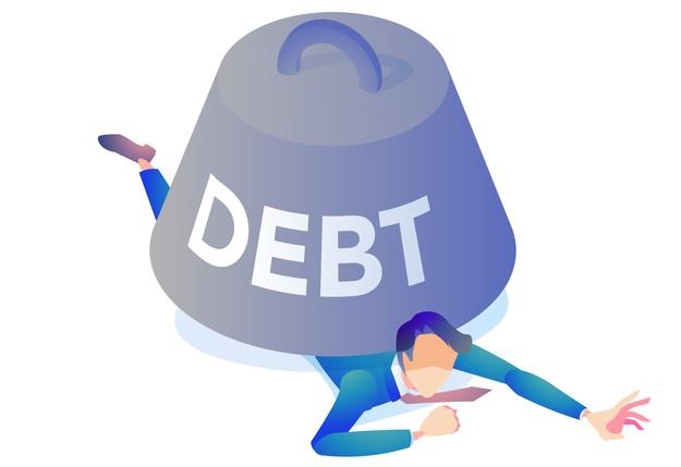 借金の負担