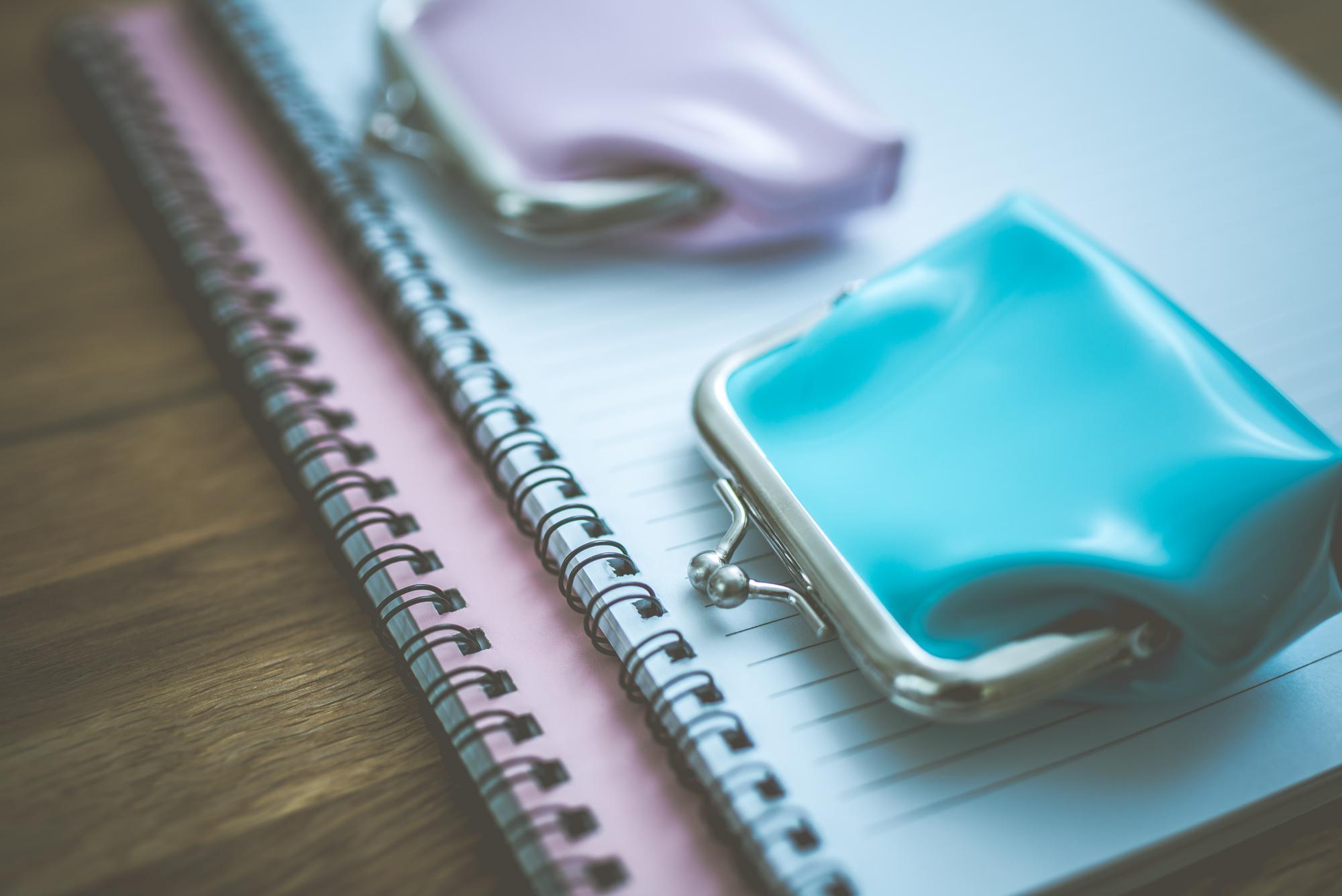 財布とノート